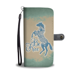 Be Free - Wallet Phone Case - Wallet Case - PurpliKi