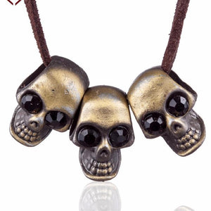 Mental Skulls Necklace - Necklace - PurpliKi