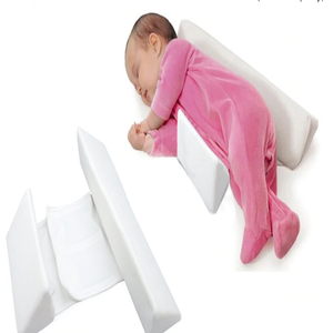 Baby Anti-Roll Pillow - Memory Foam Support For Newborn - Pillow - PurpliKi