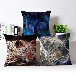 Fluorescence Animal Series - Cushion Cover - Cushion - PurpliKi