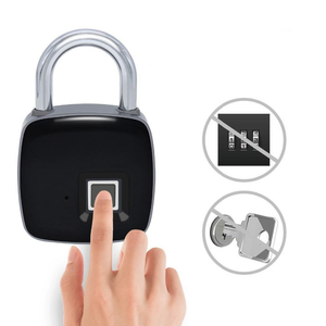 Fingerprint Lock - Keyless Fingerprint Padlock - Electric Lock - PurpliKi