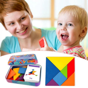 Shape Puzzle Educational Toy - Puzzles - PurpliKi
