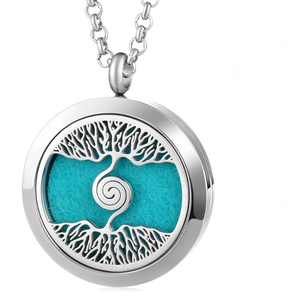 As Above So Below Aromatherapy Locket - Pendants - PurpliKi