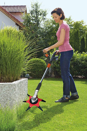 Blade X500™️- Retractable Weed Cutting Blades - Lawn Mower - PurpliKi