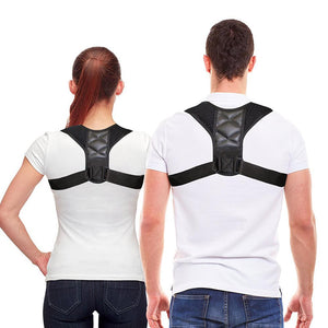 Adjustable Back Posture Brace - Posture Corrector - Back Posture Support - PurpliKi