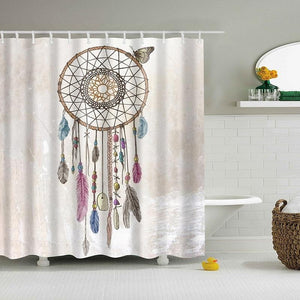 Dreamcatcher Shower Curtain - Shower Curtains - PurpliKi