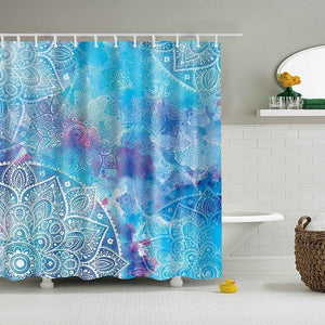 Mandala Shower Curtain - Shower Curtains - PurpliKi