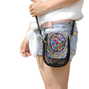 Embroidery Ethnic Bag - Bags - PurpliKi