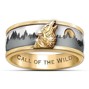 Forest Wolf Ring - Ring - PurpliKi