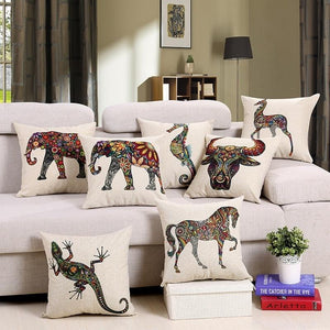Colorful Bohemia Series - Cushion Cover - Cushion - PurpliKi
