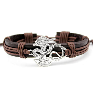 Dragon Leather Bracelet - Bracelet - PurpliKi