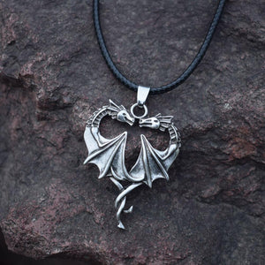 Dragon Heart Necklace - Necklace - PurpliKi
