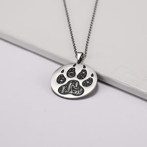 Mountain Wolf Pendant - Home - PurpliKi