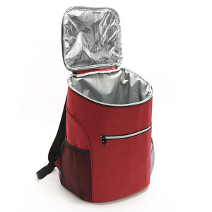 Cooler Bag - Insulated Backpack Ice Pack Shoulder Bag Carrier - Cooler Bags - PurpliKi