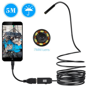 Endoscope Waterproof Camera (IOS + Android) - Camera - PurpliKi