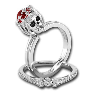 Skull Queen Ring - Rings - PurpliKi