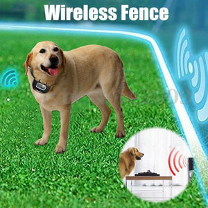 Wireless Dog Fence With Collar - Training Collars - PurpliKi
