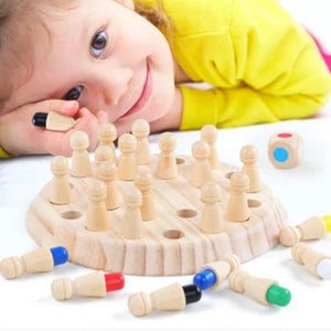MemoryMatch - Wooden Memory Game - Toys - PurpliKi