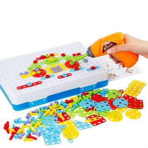 Electric Drill Puzzle - Tool Toys - PurpliKi
