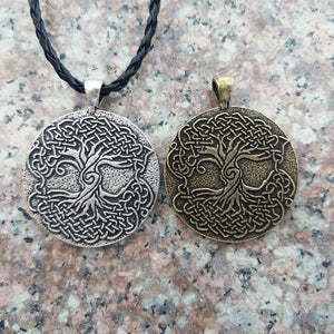 As Above So Below World Tree Necklace - Pendant Necklaces - PurpliKi