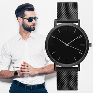 Asero Steel Mesh Watch - Quartz Watches - PurpliKi