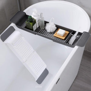 Bath Tray - Adjustable Bathtub Caddy - Bathtub Trays - PurpliKi