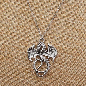 Monster Dragon Necklace - Necklace - PurpliKi