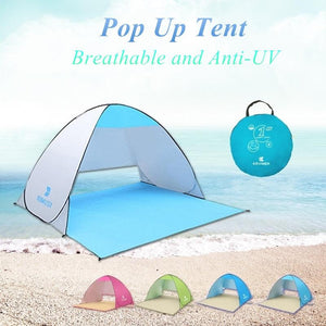 Pop Up Beach Tent - Beach Tent - PurpliKi