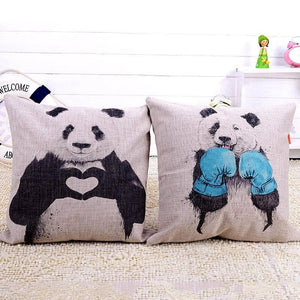 Panda Series - Cushion Covers - Cushion - PurpliKi