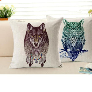 Spirit Animal Series - Cushion Covers - Cushion - PurpliKi