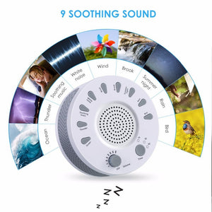 Baby Sound Machine - White Noise Baby Sleep Therapy - Baby Sleeping Monitors - PurpliKi