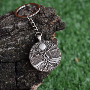 Moon Ritual Tree of Life Key Chain - Keychain - PurpliKi