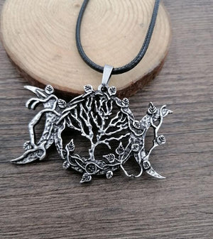 The Tree of Life Goddess Pendant - Chain Necklaces - PurpliKi
