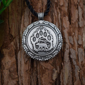 Bear Paw Necklace - Pendant - PurpliKi