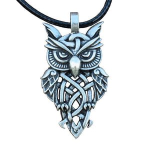 Owl Spirit Animal Pendant - Pendant - PurpliKi