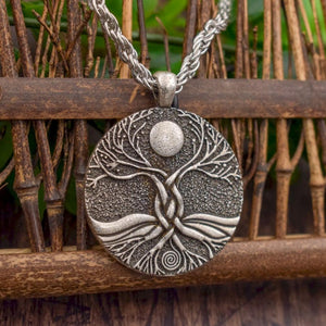 Moon Ritual  Tree of Life Necklace - Chain Necklaces - PurpliKi