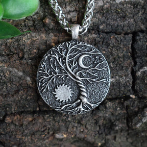 Sun And Moon Ritual Pendant - Pendant - PurpliKi
