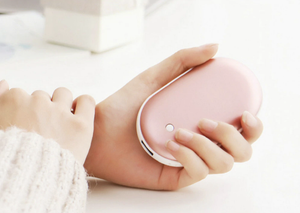 Rechargeable Hand Warmer And Power Bank - Hand Warmers - PurpliKi