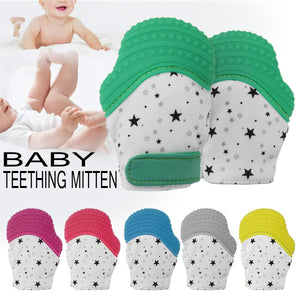 Baby Teething Mittens - Teething Gloves for Infants - Gloves & Mittens - PurpliKi