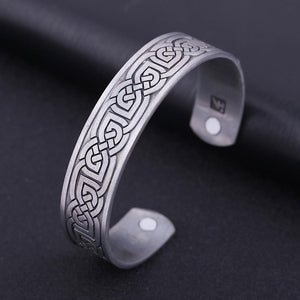 Irish Knot Magnetic Bangle - Bangles - PurpliKi