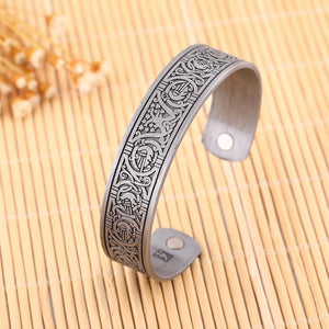 Tree of Life Totem Magnetic Bangle - Bangles - PurpliKi