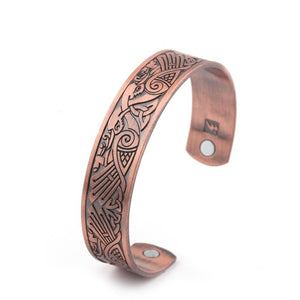 Blood Bird Magnetic Therapy Bangle - Bangles - PurpliKi