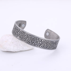 Classic Irish Knot Magnetic Bangle - Bangles - PurpliKi