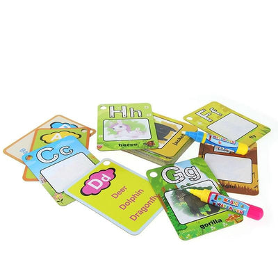Water Drawing Card 26 Alphabet Coloring Book 2 Magic Pen Letter Card Painting Board Educational Toys 422d 4830 bae5 afe54f8e65cf 400x400
