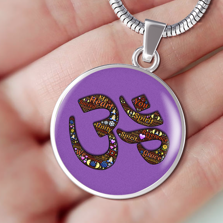 Purple Ohm Necklace - Jewelry - PurpliKi