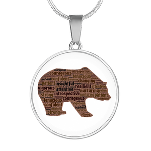 Bear Spirit Necklace - Jewelry - PurpliKi