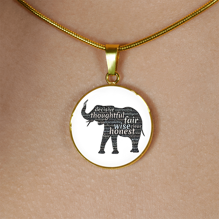Elephant Spirit Necklace - Jewelry - PurpliKi
