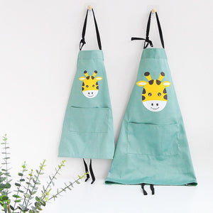 Kids Aprons - Cute Animal Apron - Aprons - PurpliKi