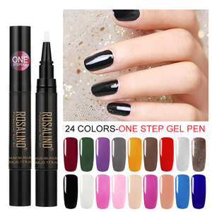 3 in 1 One Step Gel Polish Pen - Nail Gel - PurpliKi