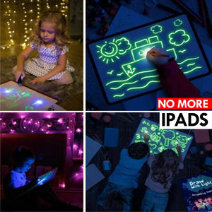 In-The-Glow- Glow-In-The-Dark Drawing Kit - Drawing Toys - PurpliKi